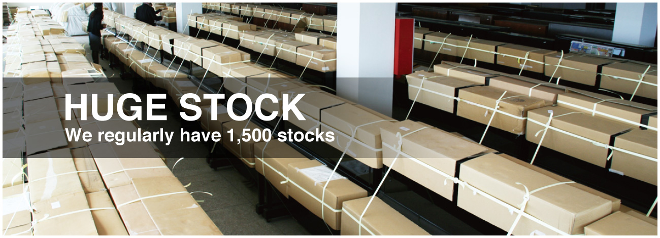 HUGE STOCK We regularly have 1,500 stocks
